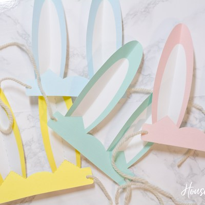Printable Bunny Ears