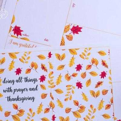 Family Gratitude Journal