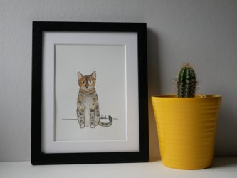 Gift idea - pet portrait