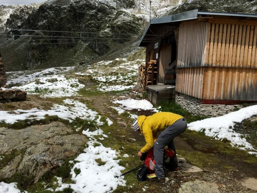 Winterlager Wangenitzseehütte