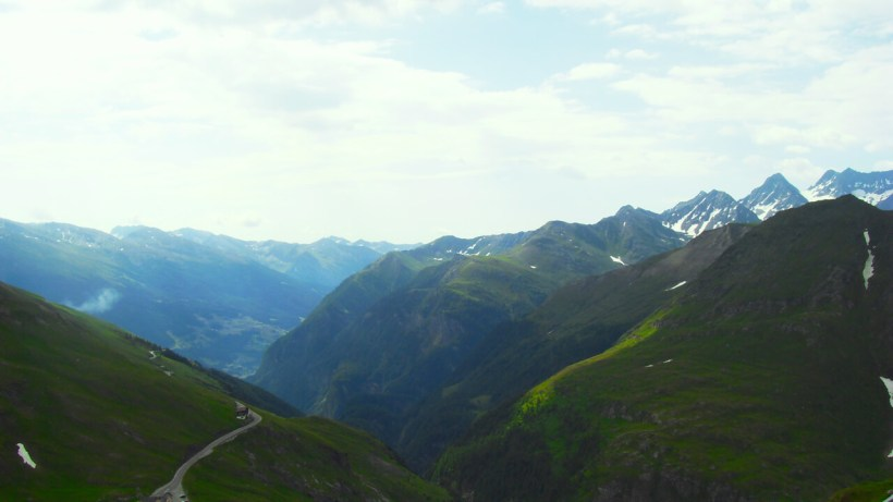 Blick talauswärts von der Franz-Josefs-Höhe