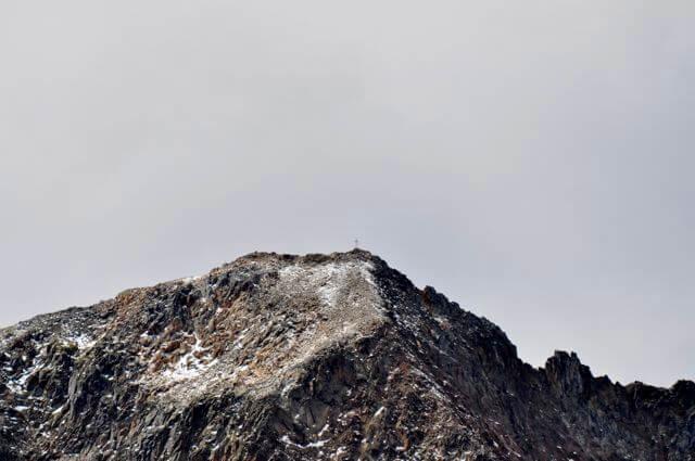 Roter Knopf Wiener Höhenweg