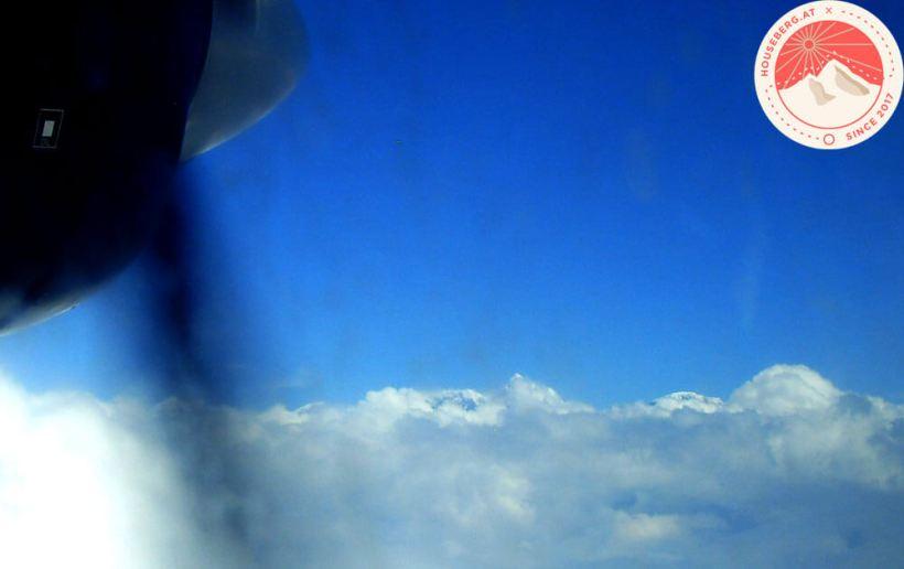 Himalaya from Lukla Plane