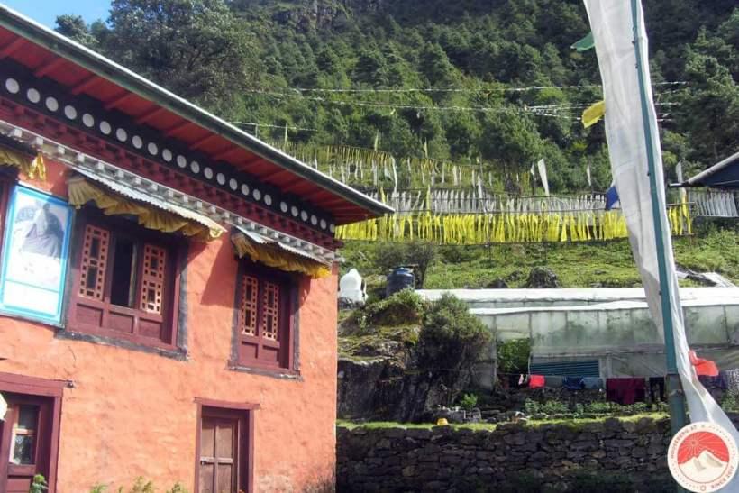 Kloster am Everest Trek