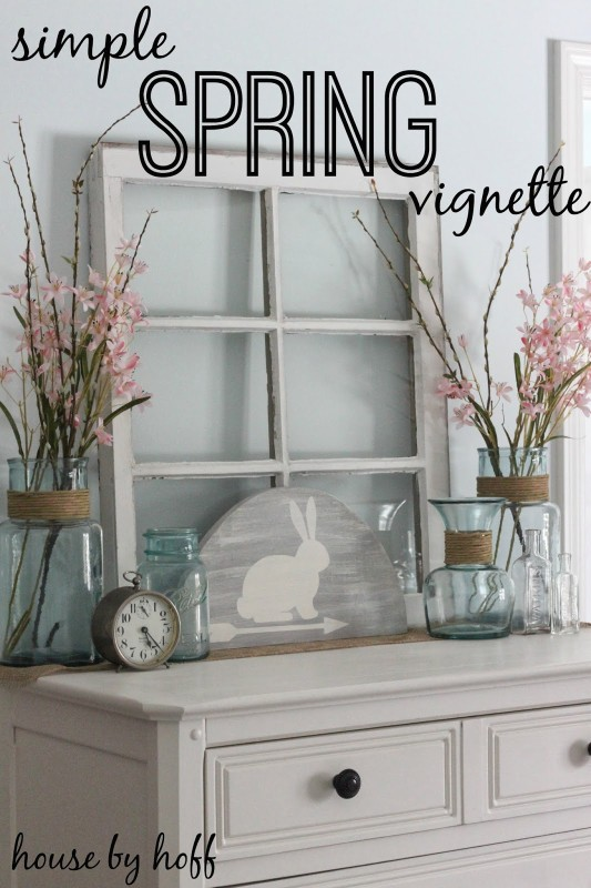 Opening The Vaults 10 Pretty Spring Vignettes House By Hoff