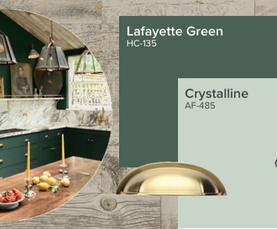 Recreate This Space #1 : The Green and Marble Kitchen