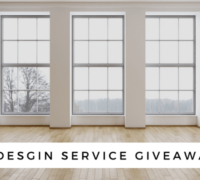 My E-Design Service Giveaway