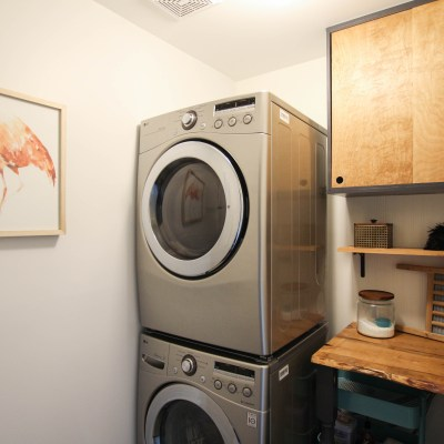 $100 Laundry Room Makeover Reveal
