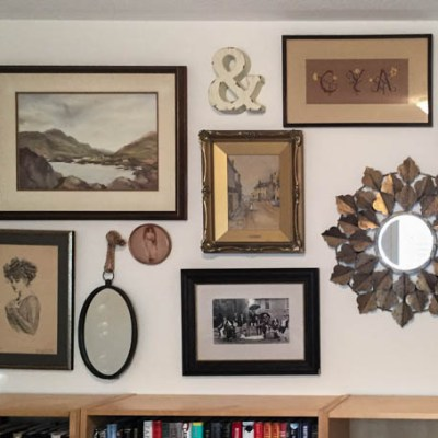 How to Create a Vintage Gallery Wall