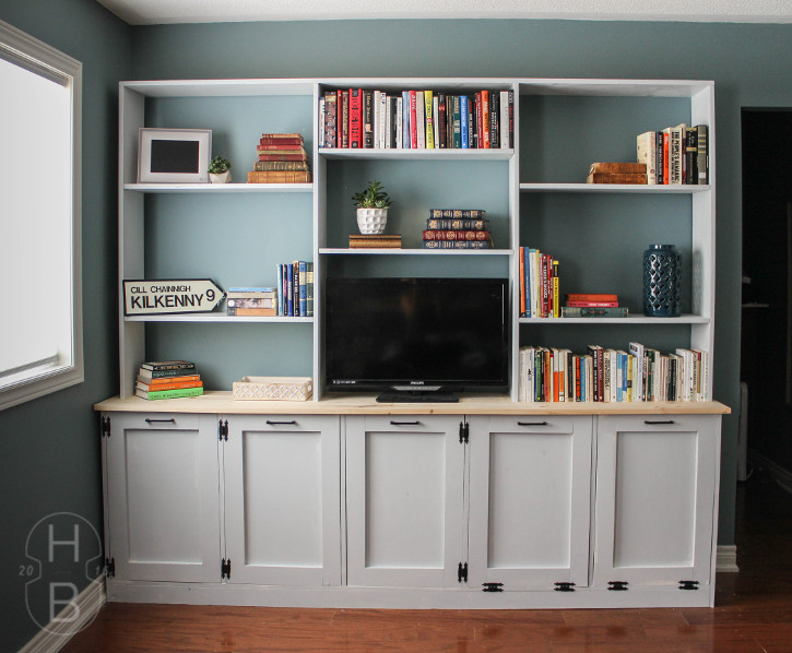 DIY Storage Unit with Tilt-Out Laundry Baskets | Master Bedroom Makeover | One Room Challenge | House by the Bay Design