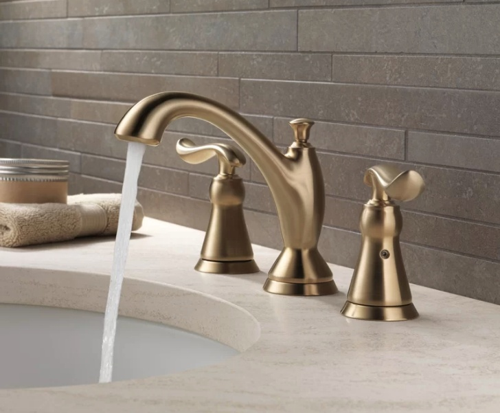 Brass Faucet | 2018 Home Design and Decor Trends | House by the Bay Design