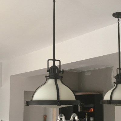 One Room Challenge Week Four – Pulling Things Together With New Lighting