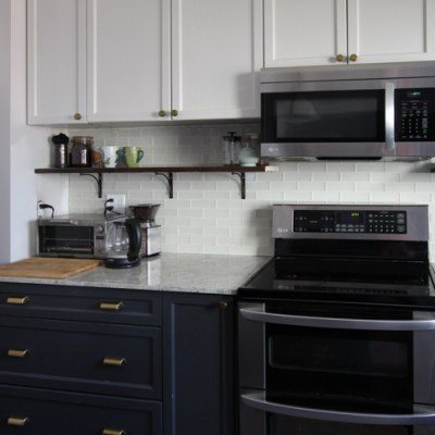 How to Paint Kitchen Cabinets (2 ways)