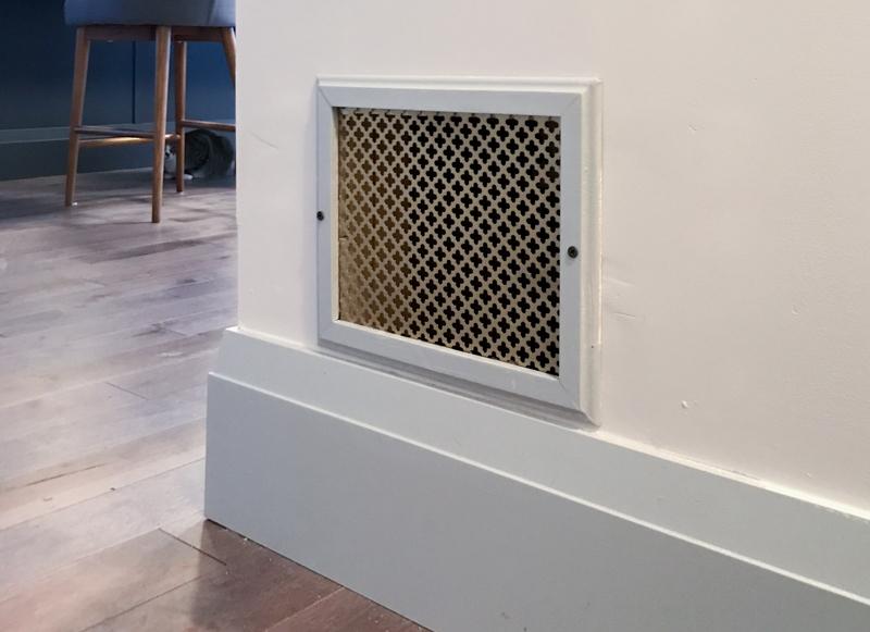 DIY cold air return