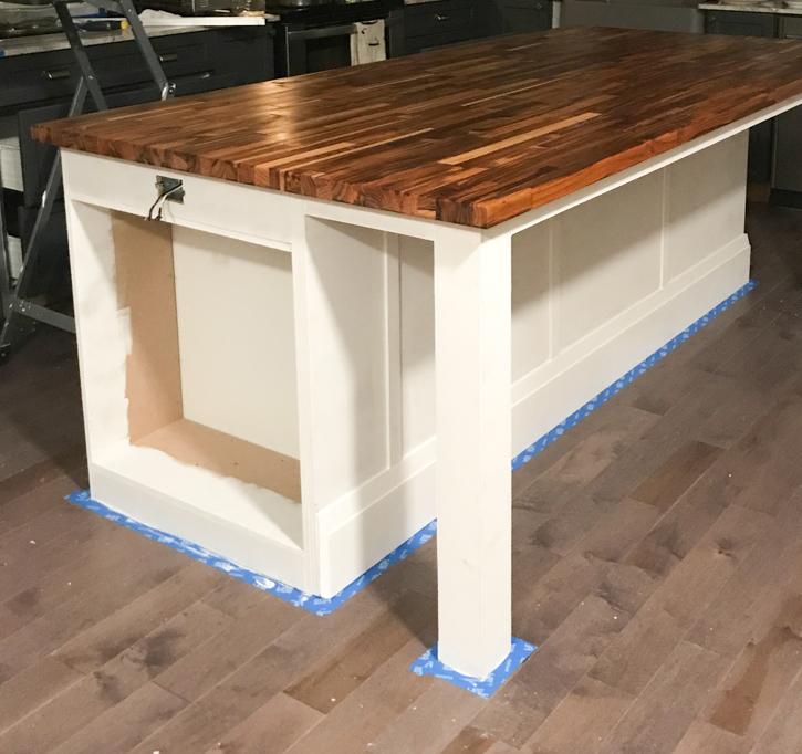 How To Build A Diy Kitchen Island, Diy Kitchen Island Using Ikea Cabinets