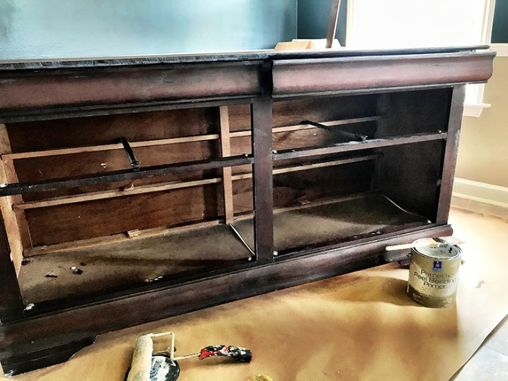 How I Upcycled A Hand-Me-Down Dresser To A Beautiful Buffet