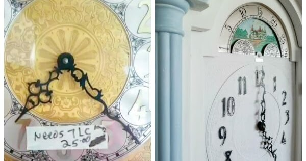 Grandfather Clock Makeover (Plus 38 More Thrift Store Projects)