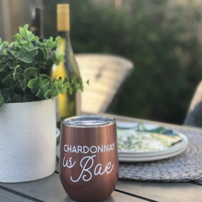 Summer Wine Tumblers DIY