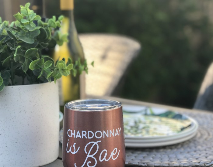Chardonnay is Bae Insulated Wine Tumbler