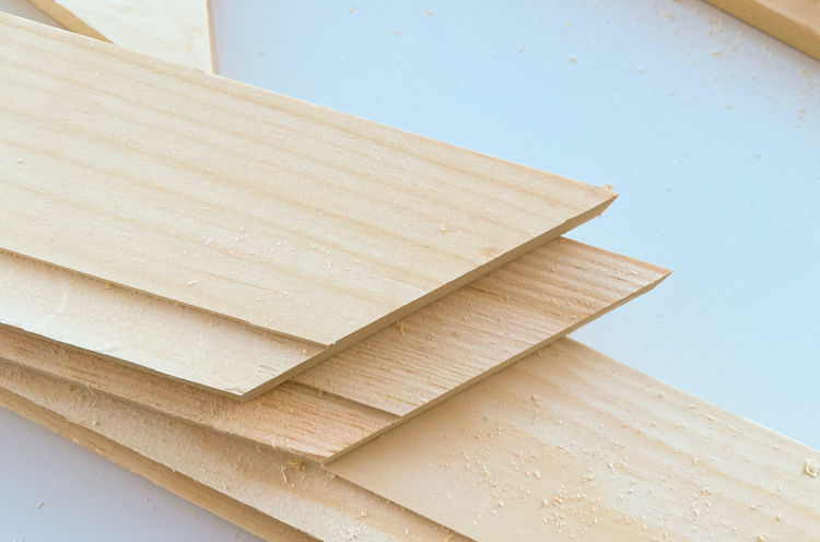 Routered edges for bookcase frame