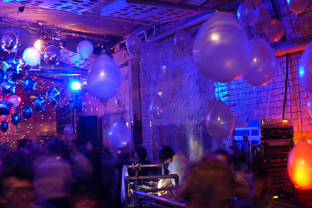 Music Themed Party Decoration From Popular Music Party