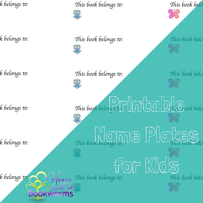 image regarding Printable Name Plates identified as Cost-free Printable Reputation Plates for Small children Guides - Residence comprehensive of