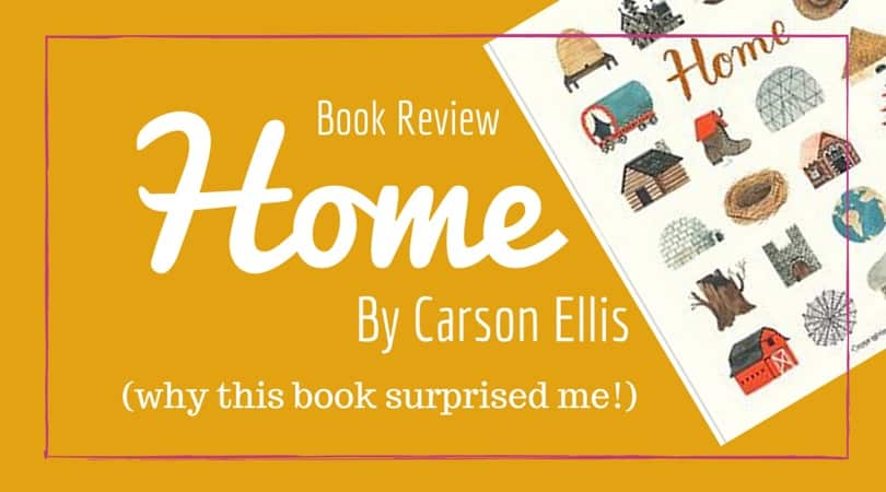 Home by Carson Ellis–A Picture Book Review