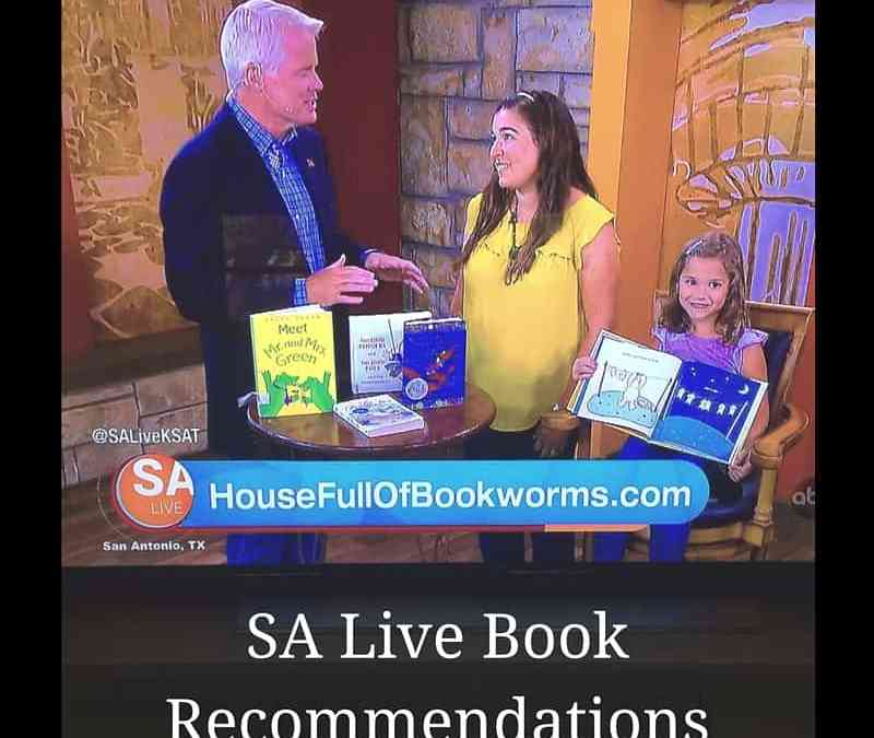 SA Live Book Recommendations 9-11-2015