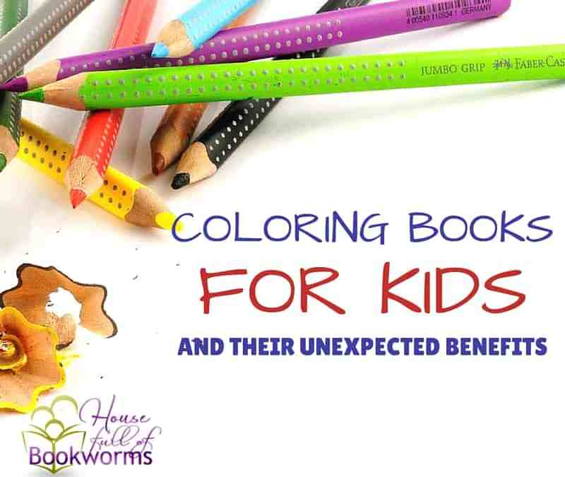 Coloring Books for Kids (and Their Unexpected Benefits)