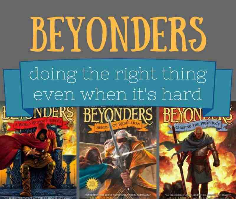 Beyonders by Brandon Mull: Doing the right thing, even when it's hard