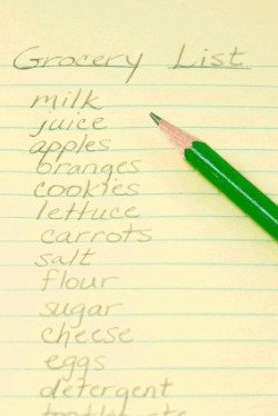 Image result for household shopping list