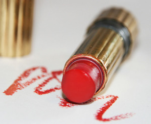 Image result for images of lipstick stains