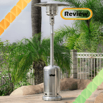 Belleze 48,000 BTU Stainless Steel Premium Patio Propane Heater Review