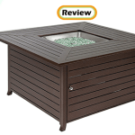 Best Choice Products Square Extruded Aluminum Gas Fire Pit Table Review