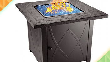 Review Blue Rhino Uniflame Endless Summer Propane Fire Pit Table