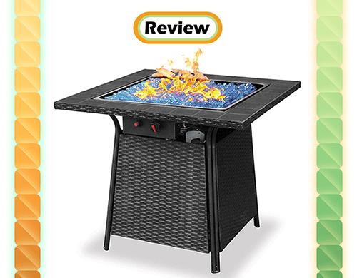 Review Blue Rhino Uniflame Endless Summer Propane Fire