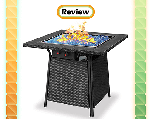Review: Blue Rhino Uniflame Endless Summer Propane Fire Pit Table