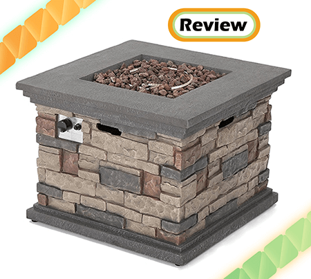 Crawford Outdoor Square Liquid Propane Fire Pit Review