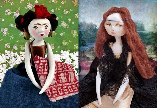 4 - Creazioni - Frida e Monna Lisa