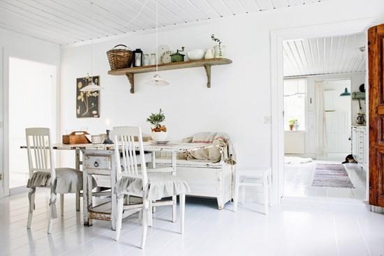 Arredamento nordico e idee per la sala da pranzo for Arredamento rustico ikea
