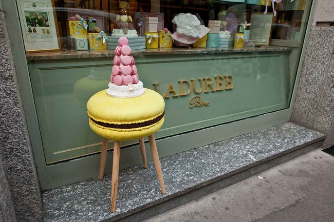 makastool laduree milano design week sgabelli macaron 5 Copia
