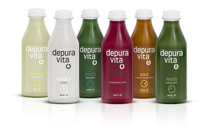 pack design succhi detox depuravita