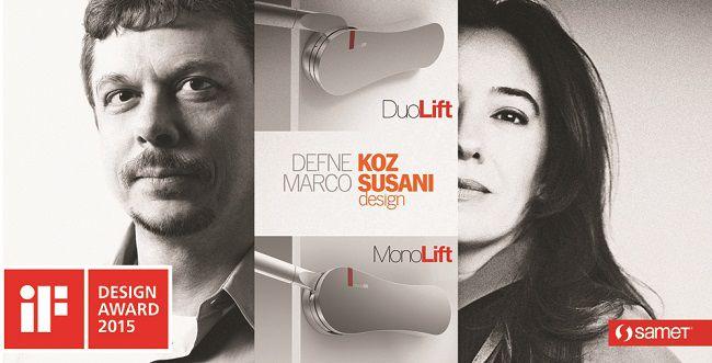 Samet Monolift e Duolift - iFdesign2015