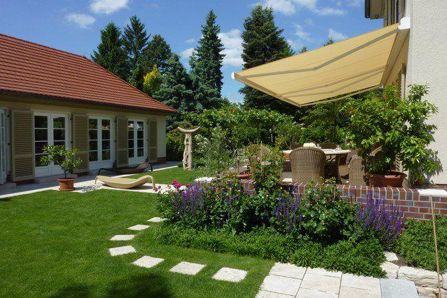 giardino accogliente