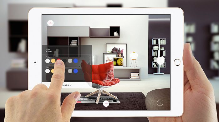App AF Augmented Furniture Realmore Equent 1
