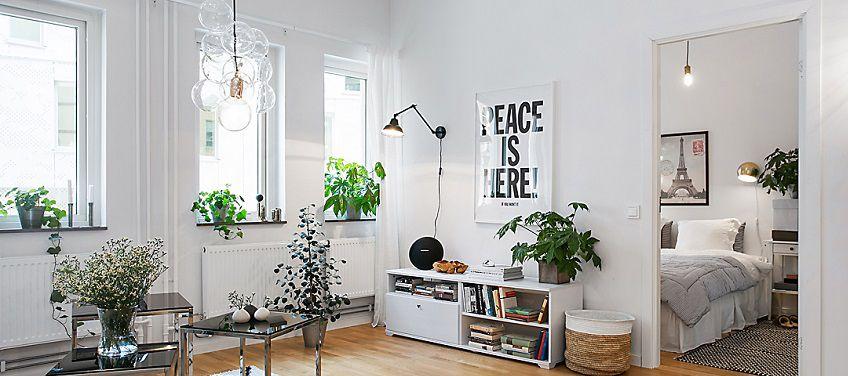 Arredare in stile scandinavo stanza per stanza for Arredare casa in bianco