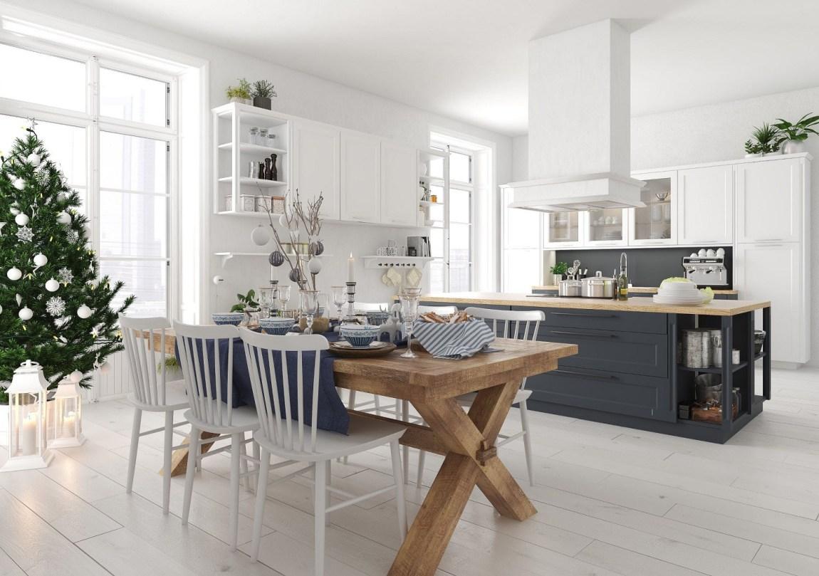 Arredamento Cucina Stile Nordico la sala da pranzo in stile nordico per le feste - house mag