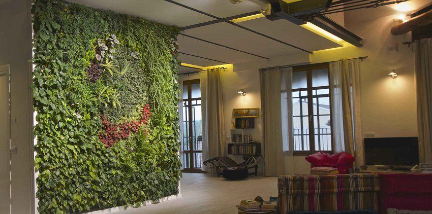 Sundar Italia_indoor vertical garden_Abitazione privata Milano