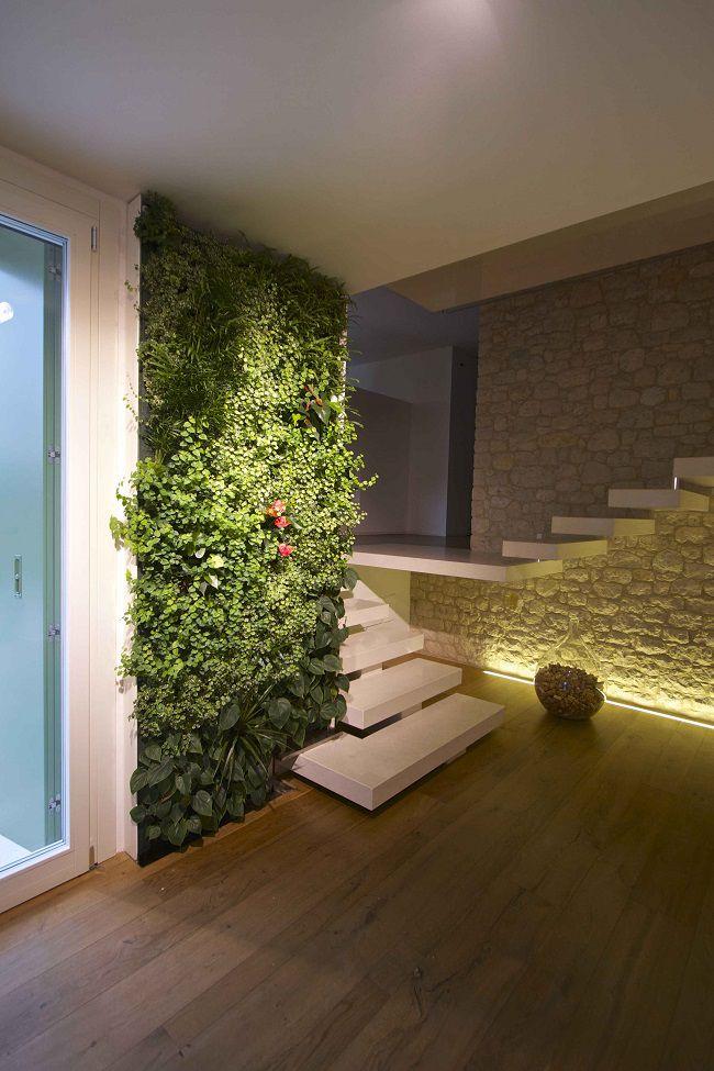 Sundar Italia_indoor vertical garden_abitazione privata Trento