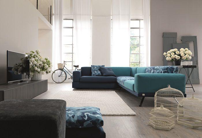 Under 2 0 il divano modulare di doimo salotti for Soluzioni per salotti